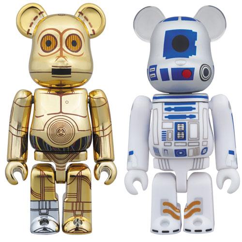 ベアブリック スター・ウォーズ C-3PO & R2-D2 2PACK