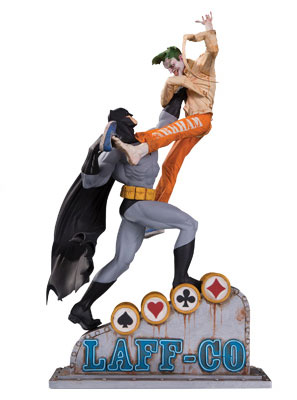 『DCコミックス』 DC スタチュー バットマン VS ジョーカー