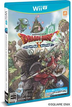 Wii U ドラゴンクエストX 5000年の旅路 遥かなる故郷へ オンライン[スクウェア・エニックス]【送料無料】《在庫切れ》