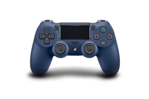 PS4用 ワイヤレスコントローラー(DUALSHOCK4) ミッドナイト・ブルー[SIE]【送料無料】《発売済・在庫品》