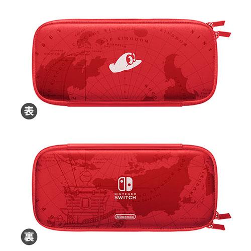 Nintendo Switchキャリングケース スーパーマリオ オデッセイエディション(画面保護シート付き)[任天堂]【送料無料】《在庫切れ》