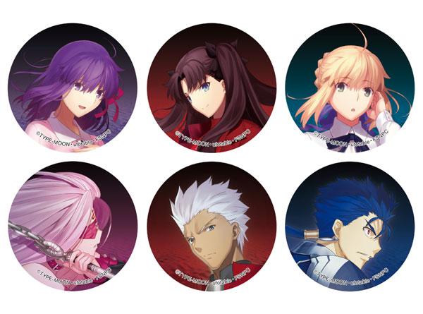 劇場版 Fate/stay night [Heaven's Feel] トレーディングホログラム缶バッジ vol.1 6個入りBOX[ブレイク]《在庫切れ》