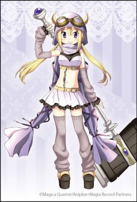 マギアレコード 魔法少女まどか☆マギカ外伝 スクエアマグネット 深月フェリシア[コンテンツシード]《在庫切れ》