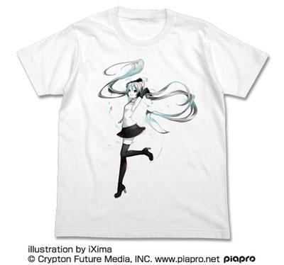初音ミク V4X Tシャツ/WHITE-L(再販)[コスパ]《08月予約》