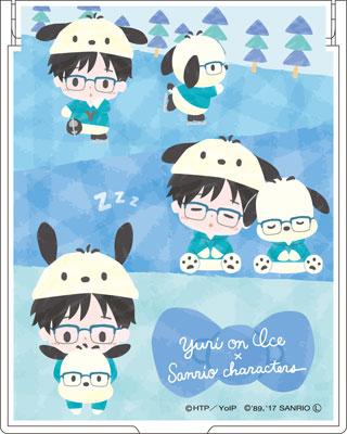 ユーリ!!! on ICE × サンリオキャラクターズ ミラー 勝生勇利[コンテンツシード]《在庫切れ》