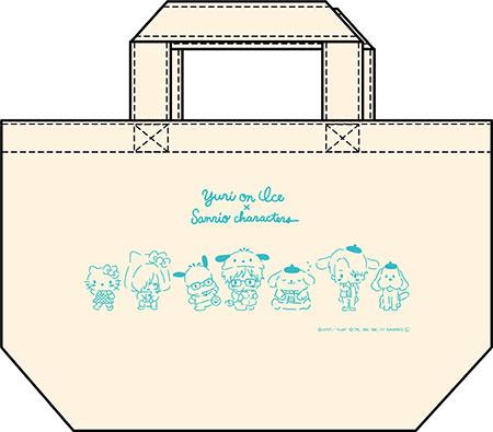 ユーリ!!! on ICE × サンリオキャラクターズ ランチトートバッグ スタンプラリーver.[コンテンツシード]《在庫切れ》
