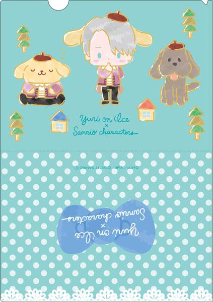 ユーリ!!! on ICE × サンリオキャラクターズ クリアファイル スタンプラリーver. B[コンテンツシード]《在庫切れ》