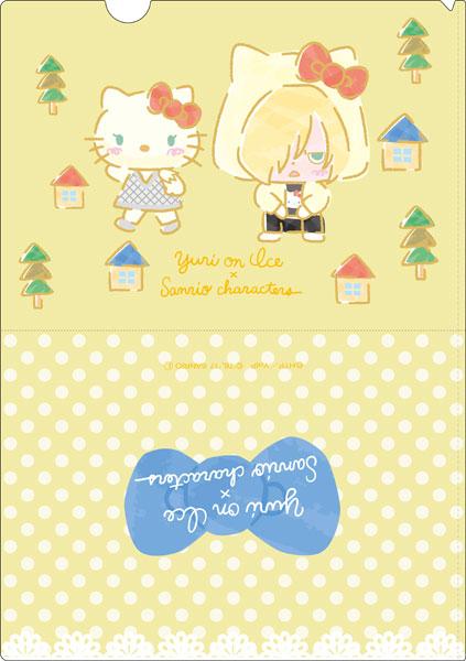 ユーリ!!! on ICE × サンリオキャラクターズ クリアファイル スタンプラリーver. C[コンテンツシード]《在庫切れ》