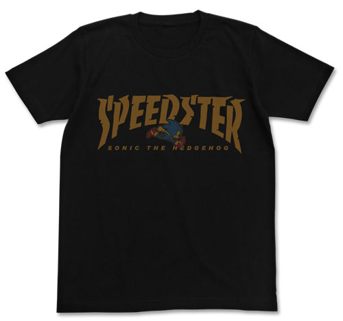 ソニック・ザ・ヘッジホッグ SPEEDSTERソニックTシャツ/BLACK-M(再販)[コスパ]《09月予約》