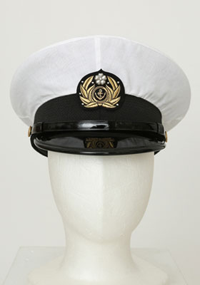 艦隊これくしょん -艦これ- 提督服 軍帽[コスパ]【送料無料】《在庫切れ》