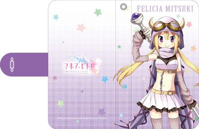 マギアレコード 魔法少女まどか☆マギカ外伝 手帳型スマートフォンケース C 深月フェリシア[ムービック]《在庫切れ》