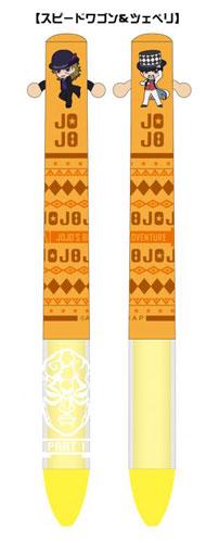TVアニメ「ジョジョの奇妙な冒険」mimiペン (3) スピードワゴン&ツェペリ[ディ・モールト ベネ]《在庫切れ》