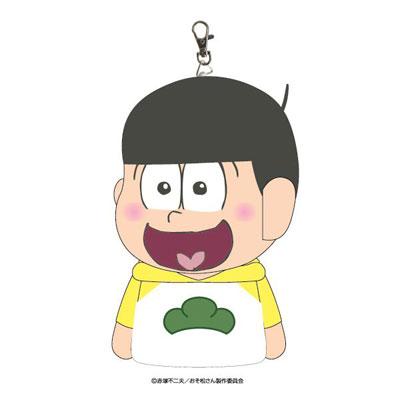 おそ松さん ぬいぐるみパスケース 十四松[エスケイジャパン]《在庫切れ》
