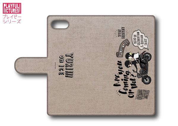 「ユーリ!!! on ICE」手帳型スマホケース P-C(iPhone5/5s/SE)[プレイフルマインドカンパニー]《在庫切れ》