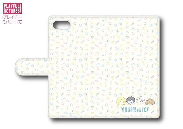 「ユーリ!!! on ICE」手帳型スマホケース P-D(iPhone5/5s/SE)[プレイフルマインドカンパニー]《在庫切れ》