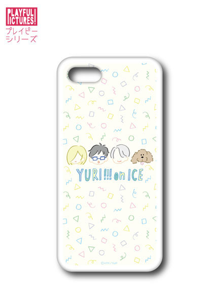「ユーリ!!! on ICE」スマホハードケース P-D(iPhone6/6s/7)[プレイフルマインドカンパニー]《在庫切れ》