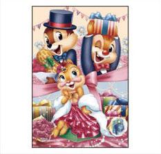 ジグソーパズル プリズムアート ジグソーパズルプチ Disney プレゼント・フォー・ユー! 70ピース (97-165)[やのまん]《発売済・在庫品》