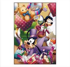 ジグソーパズル プリズムアート ジグソーパズルプチ Disney グーフィーは大あわて 70ピース (97-166)[やのまん]《取り寄せ※暫定》