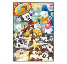 ジグソーパズル プリズムアート ジグソーパズルプチ Disney クレーンゲーム・バトル 70ピース (97-167)[やのまん]《取り寄せ※暫定》