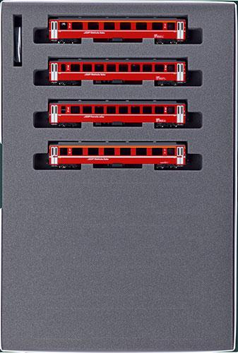 10-1414 アルプスの赤い客車 Ew I 4両増結セット(再販)[KATO]《06月予約》