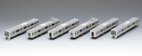 98628 JR 209 2100系通勤電車(房総色・6両編成)セット(6両)[TOMIX]【送料無料】《取り寄せ※暫定》