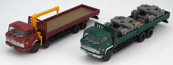 ザ・トラックコレクション 平荷台大型トラックセットA[トミーテック]《発売済・在庫品》