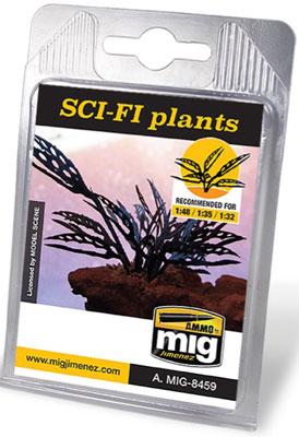 1/48・1/35・1/32 植物の葉(レーザーカット紙) SF世界の植物[アモ]《在庫切れ》