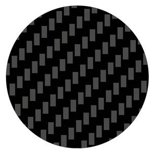 カーボンスライドマーク (綾織り・極細)[タミヤ]《発売済・在庫品》