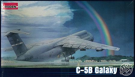 1/144 米ロッキードC-5B ギャラクシー戦略輸送機 プラモデル[ローデン]《在庫切れ》