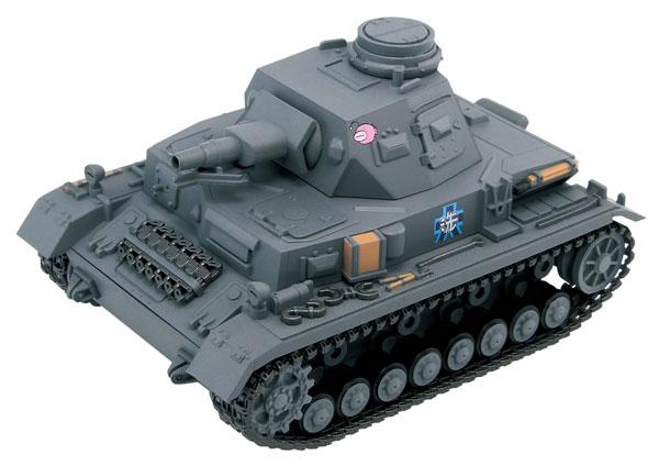 ぺあどっと ガールズ&パンツァーシリーズ IV号戦車D型エンディングVer. 半塗装済みプラモデル[ぺあどっと]《在庫切れ》