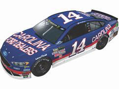 1/24 NASCAR Cup Series 2017 フォード フュージョン CAROLINA FORD DEALERS #14 Clint Bowyer Chrome[Lionel Racing]《在庫切れ》