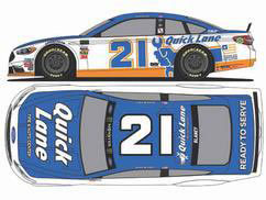 1/24 NASCAR Cup Series 2017 フォード フュージョン QUICK LANE #21 Ryan Blaney Chrome[Lionel Racing]《在庫切れ》