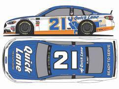 1/64 NASCAR Cup Series 2017 フォード フュージョン QUICK LANE #21 Ryan Blaney[Lionel Racing]《在庫切れ》
