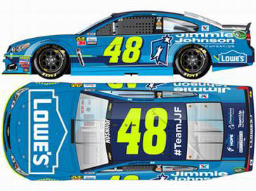 1/24 NASCAR Cup Series 2017 シボレー SS JIMMIE JOHNSON FOUNDATION #48 Jimmie Johnson[Lionel Racing]《在庫切れ》