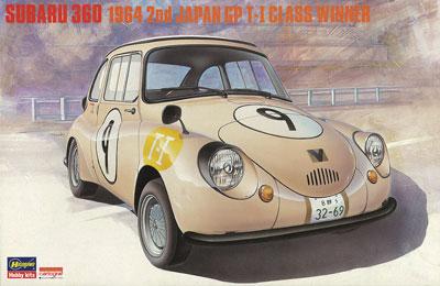 1/24 スバル 360 1964 第2回 日本GP T-1クラス ウィナー プラモデル[ハセガワ]《取り寄せ※暫定》