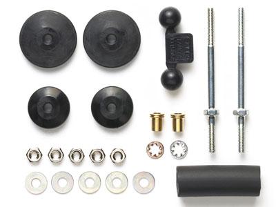 ミニ四駆特別企画 大径スタビヘッドセット(11mm/15mm)(ブラック)[タミヤ]《在庫切れ》
