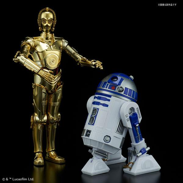 スター・ウォーズ 1/12 C-3PO & R2-D2 プラモデル[バンダイ]《取り寄せ※暫定》