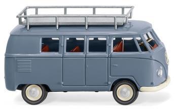 1/87 VW T1 バス type 2 ブルー[WIKING]《在庫切れ》