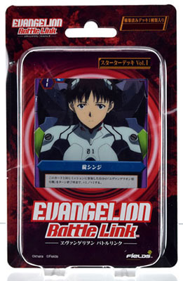 EVANGELION Battle Link ヱヴァンゲリヲンバトルリンク スターターデッキ 5パック入りBOX[フィールズ]《取り寄せ※暫定》