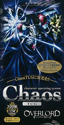 【特典】ChaosTCG ブースターパック オーバーロード 20パック入りBOX[ブシロード]《在庫切れ》