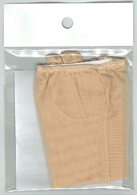 50cmドール用ネットストッキング(肌色) (ドール用衣装)[キューティーズ]《在庫切れ》