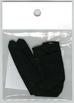 23~25cmドール(足太用) 厚手タイツ(黒) (ドール用衣装)[キューティーズ]《在庫切れ》