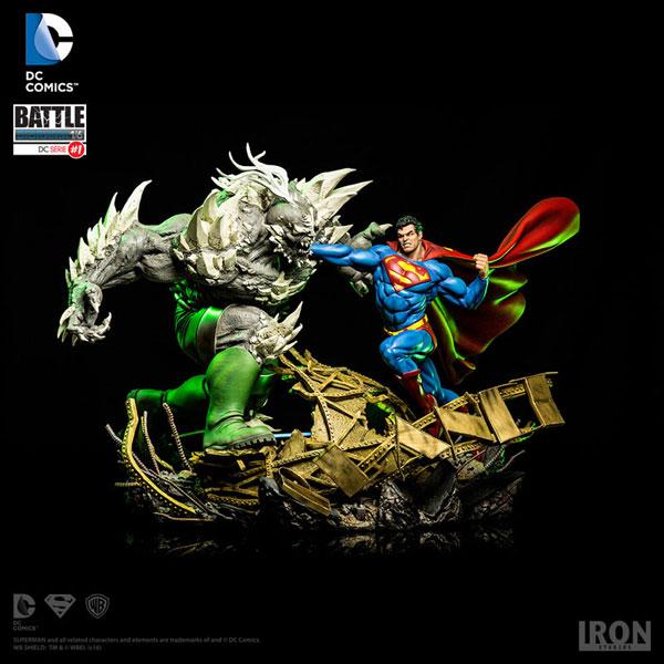 DCコミックス/ スーパーマン vs ドゥームズデイ 1/6 バトルジオラマ スタチュー