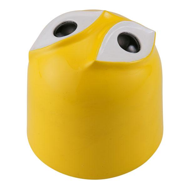 ソフビトイボックス 017C 坐ることを拒否する椅子 黄 ソフビフィギュア