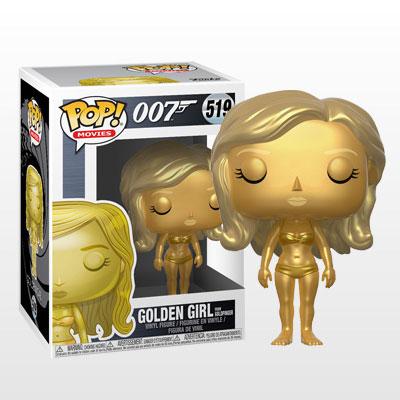ポップ! 『007』「ゴールドフィンガー」ゴールデンガール