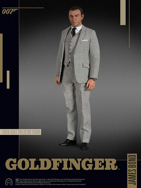 007 ゴールドフィンガー 1/6スケールフィギュア ジェームズ・ボンド(グレースーツ版)