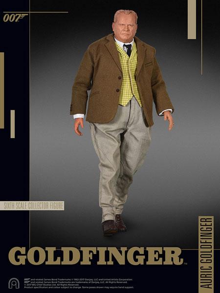 007 ゴールドフィンガー 1/6スケールフィギュア ビッグチーフ・シックス・スケール オーリック・ゴールドフィンガー