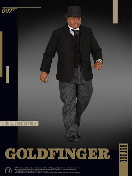 007 ゴールドフィンガー 1/6スケールフィギュア ビッグチーフ・シックス・スケール オッドジョブ