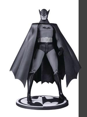 『DCコミックス』 6インチ ブラック&ホワイトアクションフィギュア バットマン By ボブ・ケイン
