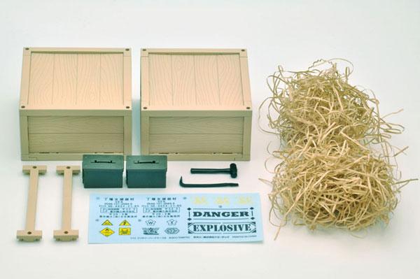 リトルアーモリー LD014 1/12 ミリタリーハードケース B[トミーテック]《発売済・在庫品》